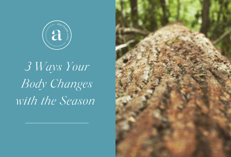 3 Ways Your Body Changes with the Season
